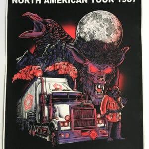 † NORTH AMERICAN TOUR 1987 †